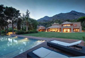 Luxury holiday villa in Marbella
